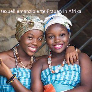 afrikanische Frauen, emanzipiert, mit Titel