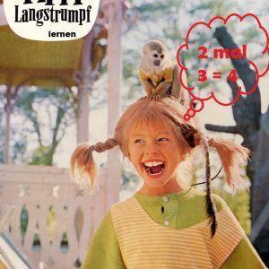 Pippi Langstrumpf mit LOGO