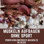 Muskeln aufbauen ohne Sport - Beitragsbild